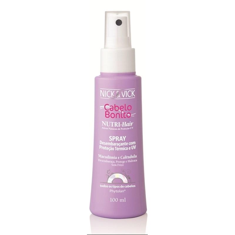 Spray Cabelo Bonito Nutri Hair 100 ml Desembaraçante