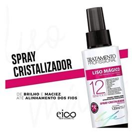 Spray Finalizador Eico Tratamento Profissional 120 ml Liso Mágico