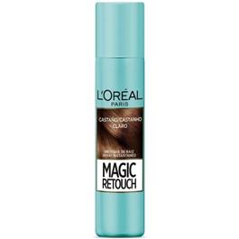 Spray para Retoque L'oréal Paris Magic Retouch 75 ml Castanho Claro