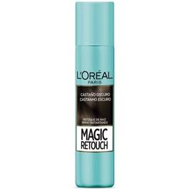 Spray para Retoque L'oréal Paris Magic Retouch 75 ml Castanho Escuro