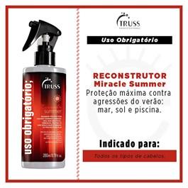 Spray Reconstrutor Truss 260 ml Uso Obrigatório Summer