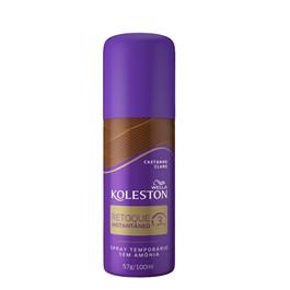 Spray Retoque Instantaneo Koleston 100 ml Castanho Claro