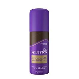 Spray Retoque Instantaneo Koleston 100 ml Castanho Escuro