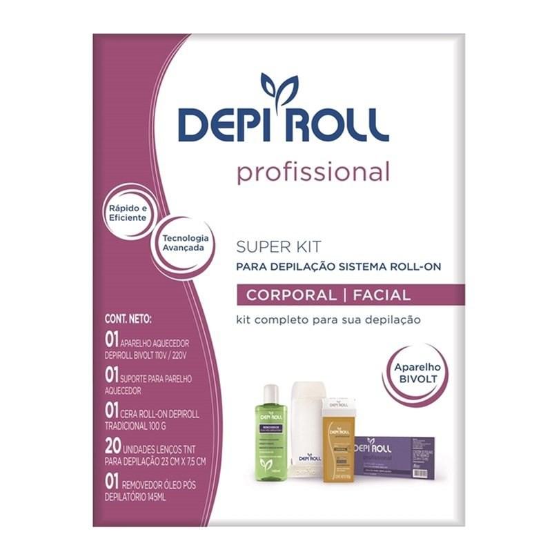 Super Kit Depilac?o Depi Roll Bivolt