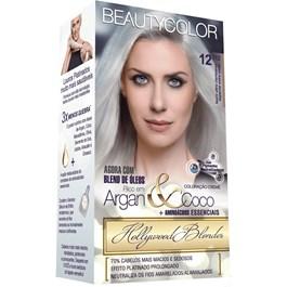 Tintura Beauty Color 12.112 Louro Ultra Claríssimo Especial Extra Cinza
