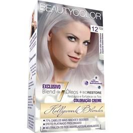 Tintura Beauty Color 12.122 Louro Ultra Clarissimo Especial Extra Violeta