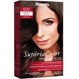 Tonalizante Amend Supéria Color Castanho Claro 500