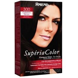 Tonalizante Amend Supéria Color Castanho Escuro 300