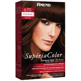 Tonalizante Amend Supéria Color Chocolate 670