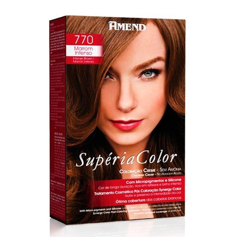 Tonalizante Amend Supéria Color Marrom Intenso 770