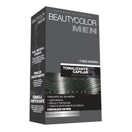 Tonalizante Beautycolor Men Cinza Natural