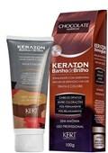 Tonalizante Keraton Banho de Brilho 100 gr Chocolate