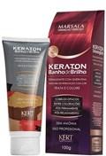 Tonalizante Keraton Banho de Brilho 100 gr Marsala