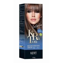Tonalizante Keraton Banho de Brilho Castanho Natural 100g