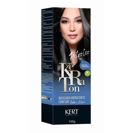 Tonalizante Keraton Banho de Brilho Petróleo Preto 100g