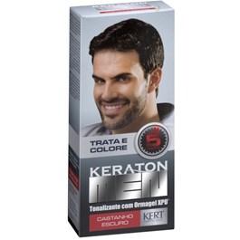 Tonalizante Keraton Men Castanho Escuro