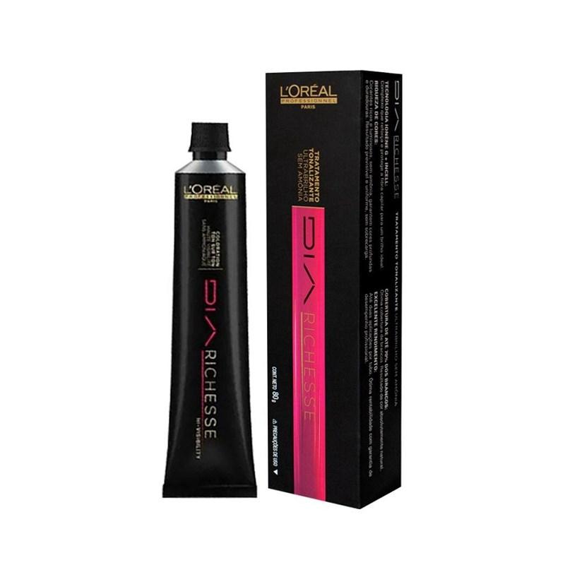 Tonalizante L'oréal Professionnel DiaRichesse 80 gr Licor de Cassis 6.64