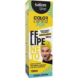 Tonalizante Salon Line Color Express Felipe Neto 100 ml Amareloneto