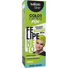 Tonalizante Salon Line Color Express Felipe Neto 100 ml Verdeneto