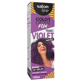 Tonalizante Salon Line Color Express Fun 100 gr Violet Fantasy