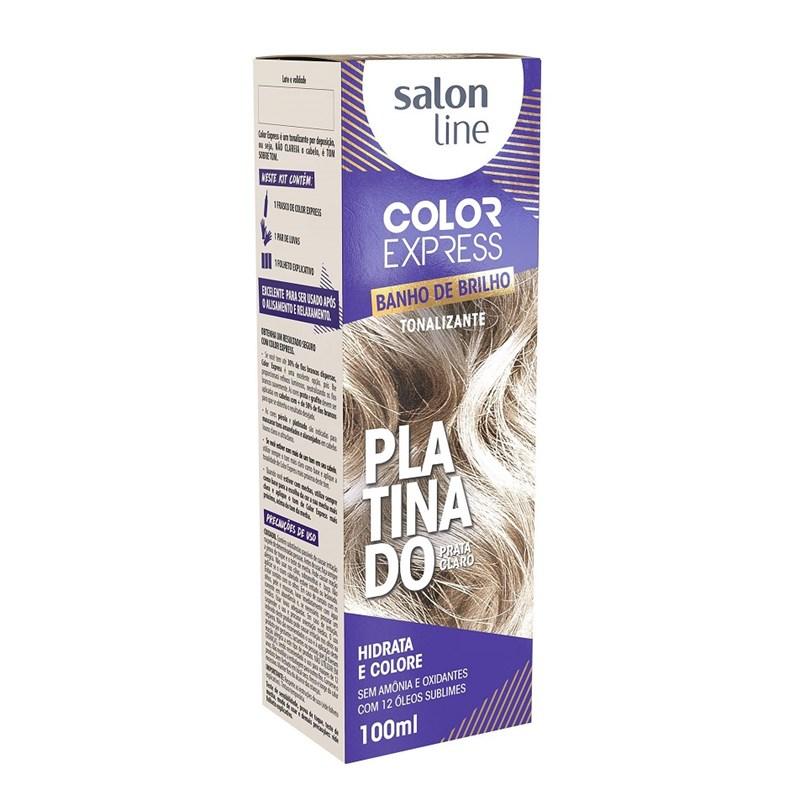Tonalizante Salon Line Color Express Platinado