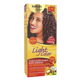 Tonalizante Salon Line Light Color Bordeaux Profundo 3.66