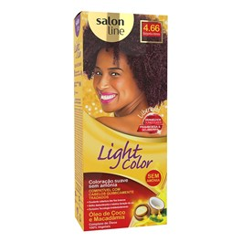 Tonalizante Salon Line Light Color Borgonha Intenso 4.66