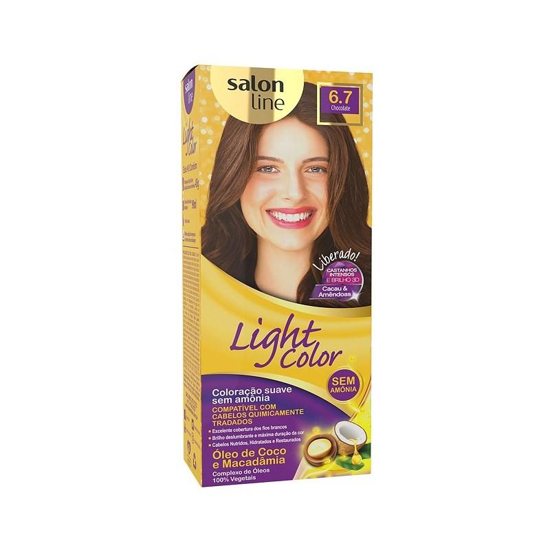 Tonalizante Salon Line Light Color Chocolate 6.7