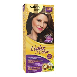 Tonalizante Salon Line Light Color Louro Escuro 6.0