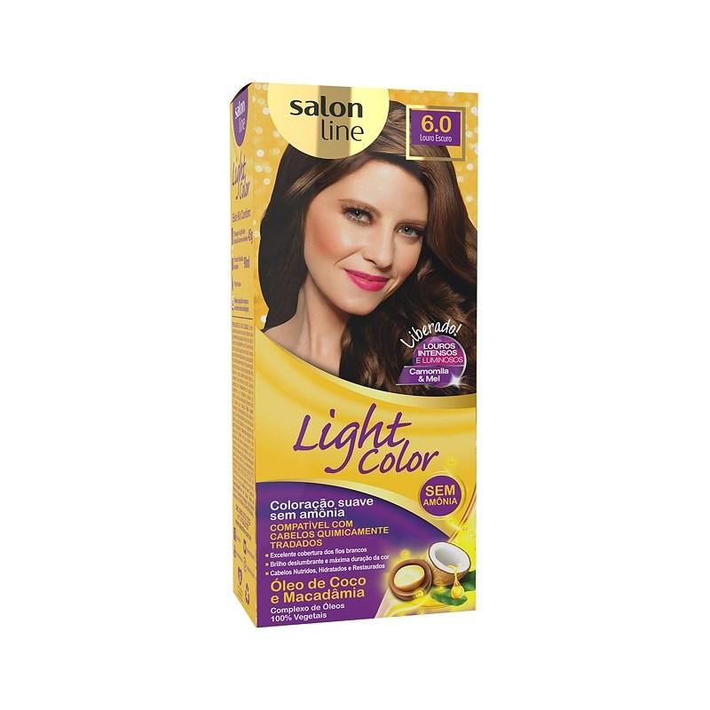 Tonalizante Salon Line Light Color Louro Escuro 6.0