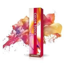 Tonalizante Wella Color Touch 60 gr Castanho Médio Marrom Intenso 4.77