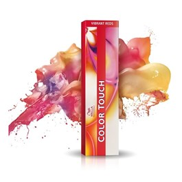 Tonalizante Wella Color Touch 60 gr Louro Escuro Vermelho Acaju 6.45