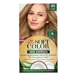 Tonalizante Wella Soft Color Louro Claro 80