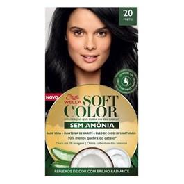 Tonalizante Wella Soft Color Preto 20