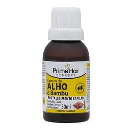 Tônico Capilar Prime Hair Concept 30 ml Extrato de Alho e Bambu