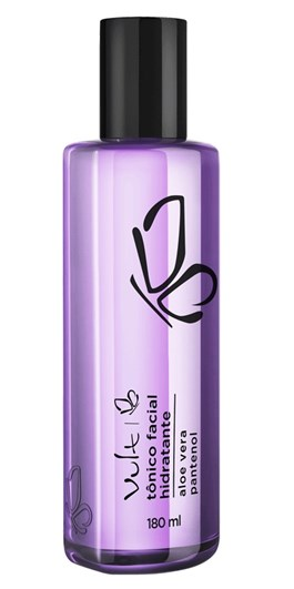 Tônico Facial Hidratante Vult 180 ml Aloe vera Pantenol