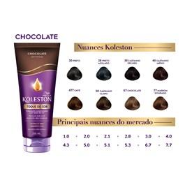 Tratamento Condicionador Koleston Toque de Cor 200 ml Chocolate