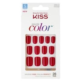 Unhas Postiças Kiss New York Salon Color New Girl KSC02