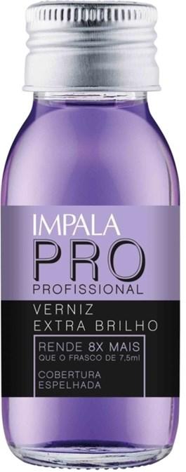 Verniz Extra Brilho Impala Pro 60 ml